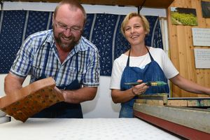Handblaudruck Wagner Bad Leonfelden